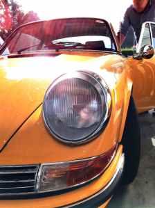 cars car porsche close up view