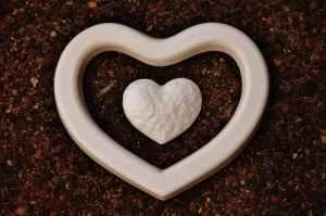 design ground heart love