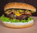beef bread bun burger