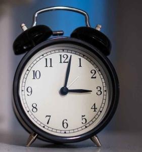 time clock sleep count