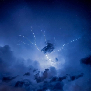 photo of thunderstorm