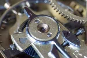 blur brass chrome close up