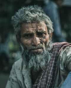 adult aged beard elder